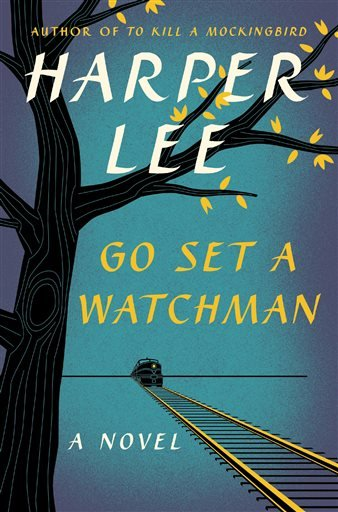 """This book cover released by Harper shows """"Go Set A Watchman,"""" a follow-up to Harper Lee's """"To Kill A Mockingbird"""". (AP Photo/Harper)"""