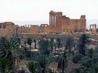 Activists say Islamic State militants have destroyed a temple at Syria's ancient ruins of Palmyra. News that the militants blew up the Baalshamin Temple (not pictured) came after the extremists beheaded Palmyra scholar Khaled al-Asaad on Tuesday. AP