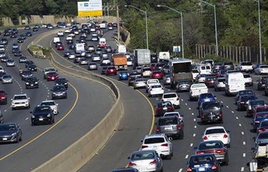 Traffic congestion nationally reached a new peak last year and is greater than ever before, according to a report by the Texas A&M Transportation Institute and INRIX Inc. (AP Photo/Jose Luis Magana)