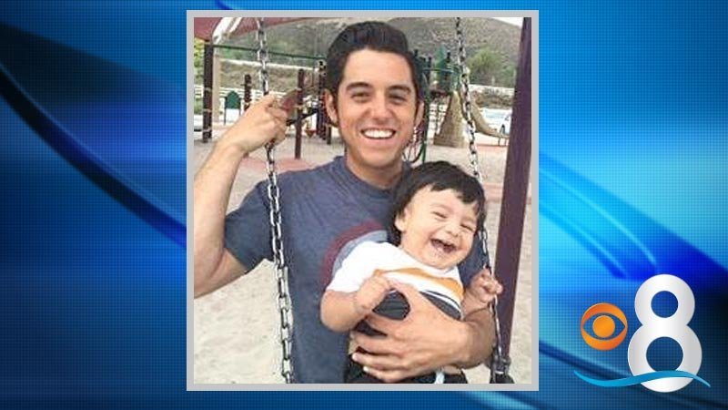 Leonardo Sandoval worked for Pacific Restoration Group and was repairing sprinklers along a stretch of Interstate 15 in Escondido on Monday afternoon when he was struck and killed by a car.