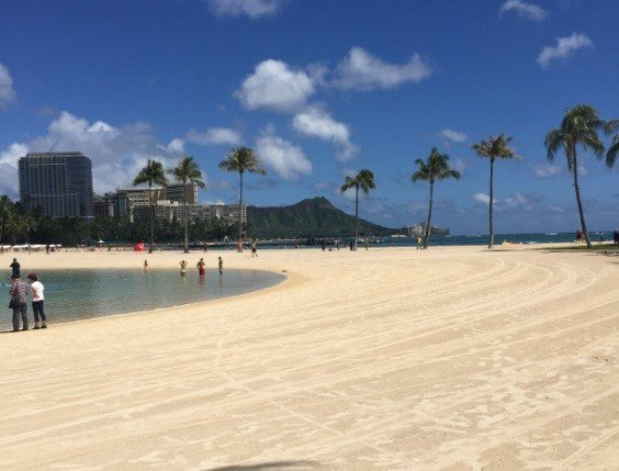 September 16, 2015: Waikiki Beach, Hawaii (Photo Credit: Damaris Perez)