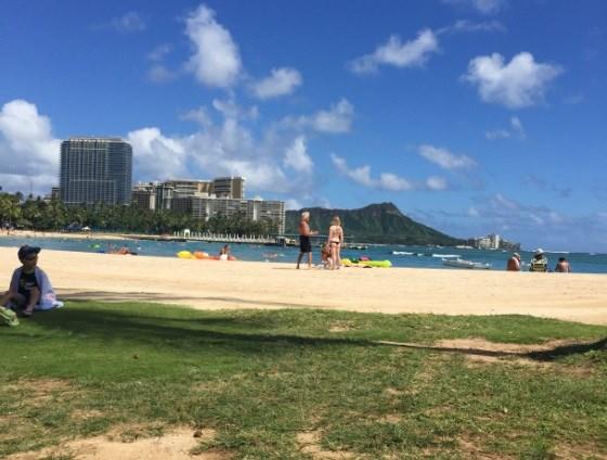 September 16, 2015: Waikiki Beach, Hawaii (Photo Credit: Damaris Perez)
