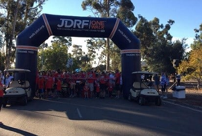 Nearly 3,500 participants showed up Saturday morning (Nov. 7, 2015) at the JDRF San Diego Walk to Cure Diabetes.