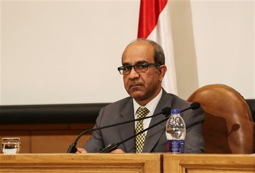 Ayman el-Muqadem, the head of the investigation team on a Russian plane crash last week in Egypt's Sinai.
