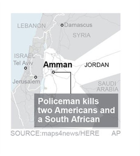 Jordan-Americans Killed.; 1c x 2 inches; 46.5 mm x 50 mm;