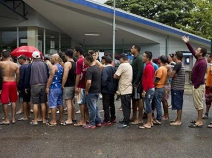 Thousands of Cuban migrants have been able to make the trip to the U.S. thanks to a constant flow of information between migrants starting the journey and those who have just completed it. (AP Photo/Esteban Felix)
