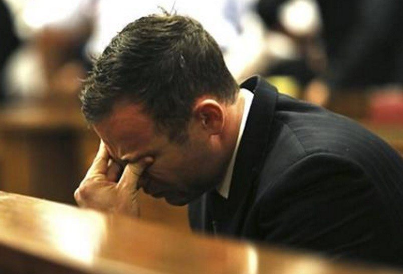 The South African appeals court convicted Pistorius, Thursday Sept. 3, 2015 of murder, overturning a lower court's conviction of the double-amputee Olympian on the lesser charge of manslaughter for shooting his girlfriend to death in 2013. (AP Photo)