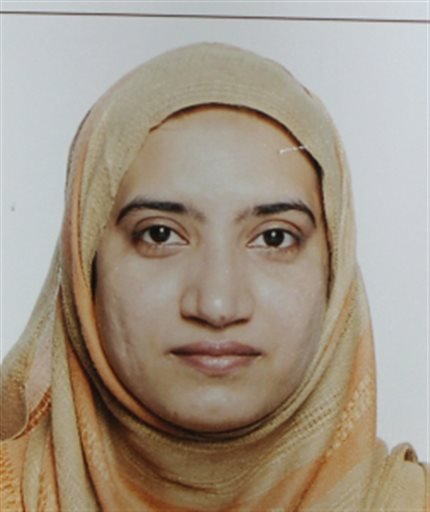 FILE - This undated file photo, provided by the FBI shows Tashfeen Malik. A religious conservative who lived previously in Pakistan and Saudi Arabia. (FBI via AP, File)