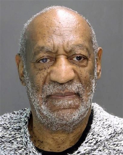This booking photograph released by the Montgomery County District Attorney's Office shows Bill Cosby, who was arrested and charged Wednesday, Dec. 30, 2015, in district court in Elkins Park, Pa., with aggravated indecent assault.