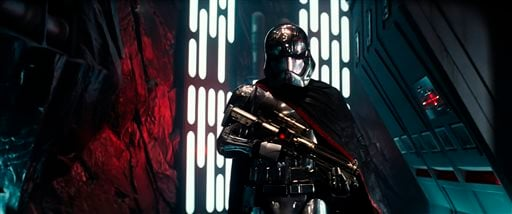 """This photo provided by Disney shows a scene from the new film, """"Star Wars: The Force Awakens,"""" directed by J.J. Abrams. (Film Frame/Copyright Lucasfilm 2015 via AP)"""