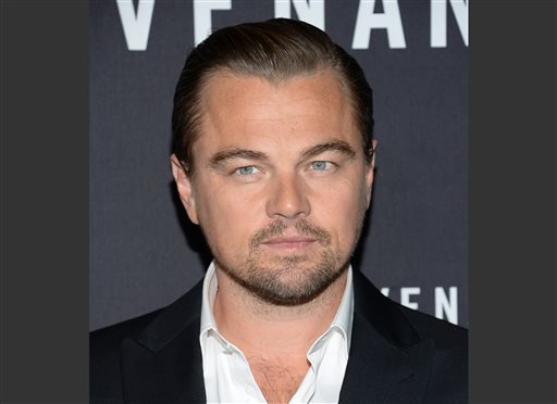 "Actor Leonardo DiCaprio attends the premiere for ""The Revenant"" at AMC Loews Lincoln Square on Wednesday, Jan. 6, 2016, in New York. ""The scientific community has been screaming out loud. Ninety-nine per cent of the scientific community is in agreement th"