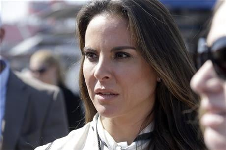 """Mexican authorities said on Monday, Jan. 18, 2016, that they want to talk to the Mexican actress who arranged an interview with drug lord Joaquin """"El Chapo"""" Guzman for actor Sean Penn. (AP Photo/Reed Saxon, File)"""