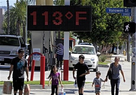 The National Oceanic Atmospheric Administration (NOAA) and NASA announced Wednesday, Jan. 20, 2016, that 2015 was by far the hottest year in 136 years of record keeping. (AP Photo/Richard Vogel, File)