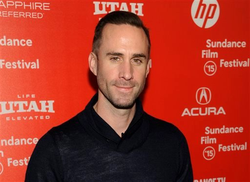 "In this Friday, Jan. 23, 2015 file photo, Joseph Fiennes, a cast member in ""Strangerland,"" poses at the premiere of the film at the Egyptian Theatre during the 2015 Sundance Film Festival, in Park City, Utah."
