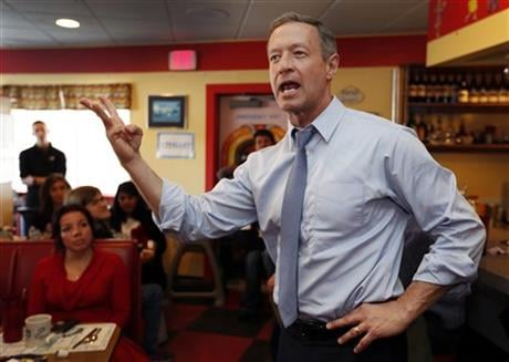 O'Malley is ending his bid for the Democratic nomination for president on Feb. 1, 2016. (AP Photo/Jim Cole, File)
