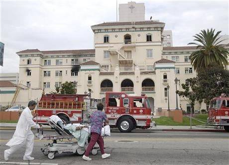 "The FBI says Wednesday, Feb. 17, 2016, it is investigating a computer network extortion plot at the Los Angeles hospital. In the attacks known as ""ransomware,"" hackers lock up an institution's computer network and demand payment to reopen them. AP"