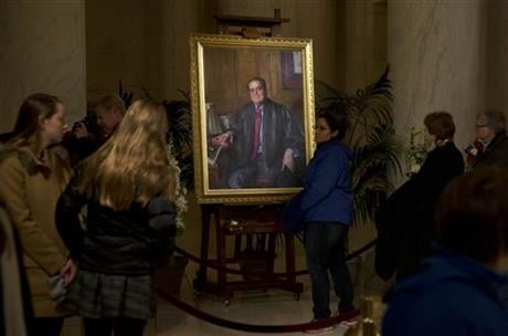 A letter from the Supreme Court's doctor said Scalia suffered from coronary artery disease, obesity and diabetes, among other ailments that probably contributed to the justice's sudden death. (AP Photo/Manuel Balce Ceneta, File)