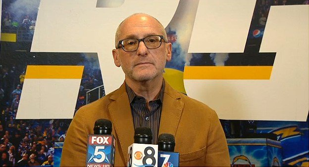 Chargers special adviser Fred Maas speaks at a press conference on Tuesday, February 23, 2016.