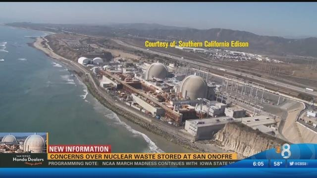 Concerns Over Nuclear Waste Stored At San Onofre Cbs News 8 San Diego Ca News Station Kfmb Channel 8