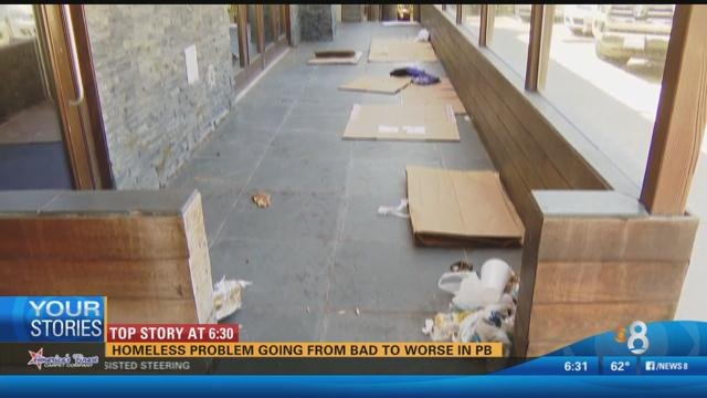 How Bad Are The Homeless In Pacific Beach Ca