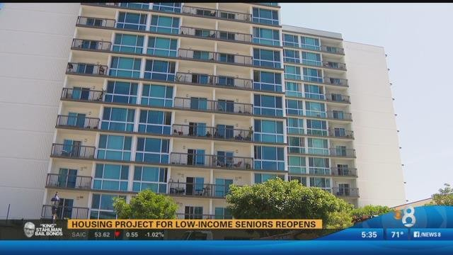 Lovely Housing For Low Income Seniors Reopens CBS News 8 San Diego CA News Stat