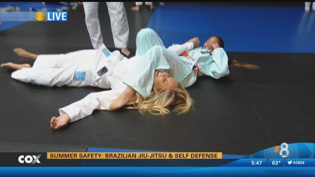 San Diego Honda >> Summer Safety: Brazilian Jiu-Jitsu and Self Defense - CBS ...