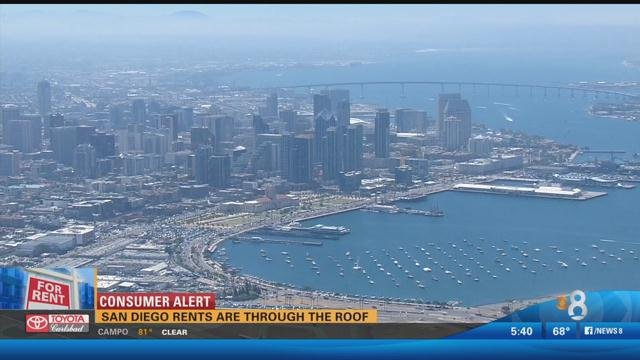 San Diego Rent Is Through The Roof Cbs News 8 San Diego Ca News Station Kfmb Channel 8