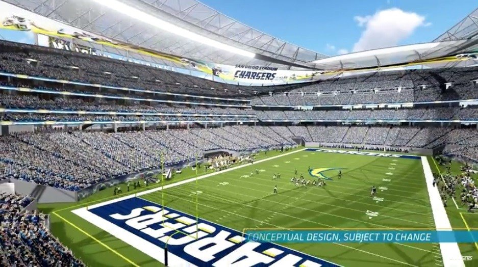 Chargers Release New Downtown Quot Convedium Quot Proposal Cbs