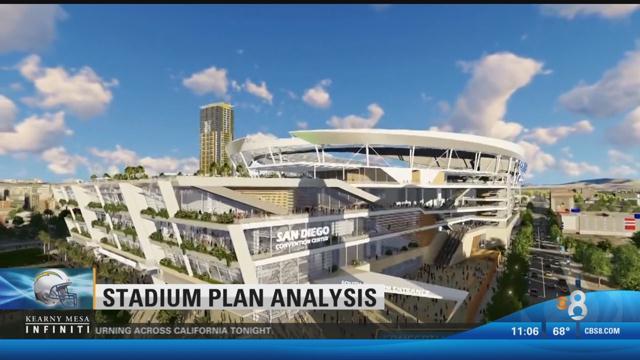 Chargers Release Stadium Economic Study Cbs News 8 San