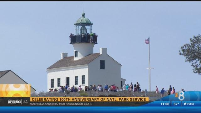 Cabrillo national monument celebrates national park for National motors san diego