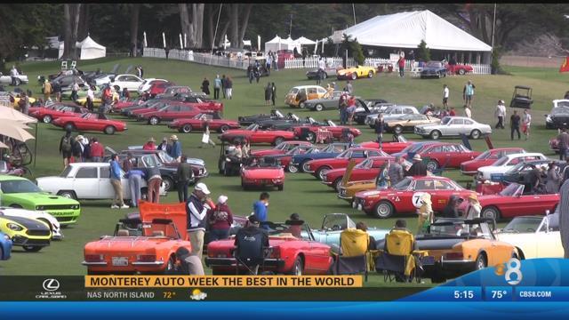 Monterey auto week best in the world cbs news 8 san for Worldwide motors san diego ca