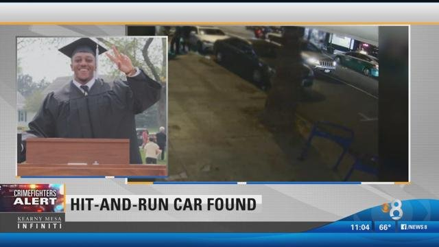 Car Believed To Be Involved In Chargers Intern Hit And Run