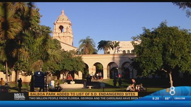 Balboa park added to list of san diego endangered sites for Worldwide motors san diego ca
