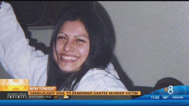 Candlelight Vigil To Remember Santee Murder Victim Cbs
