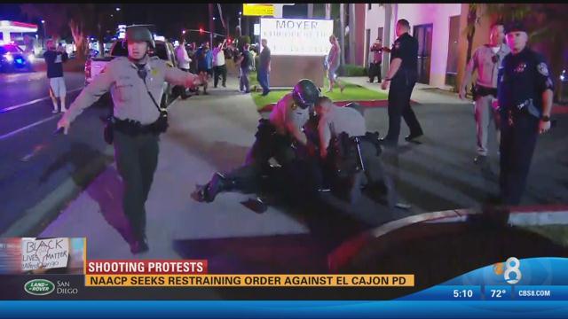 NAACP to seek restraining order against El Cajon Police Departme ...