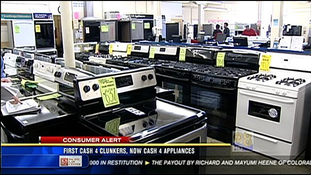 first cash for clunkers now cash for appliances cbs news 8 san diego ca news station. Black Bedroom Furniture Sets. Home Design Ideas
