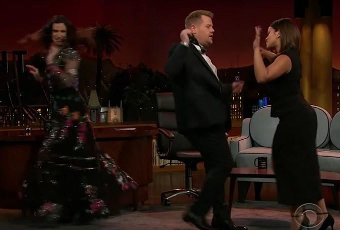 Gina Rodriguez Gives a Salsa Lesson - CBS News 8 - San ...