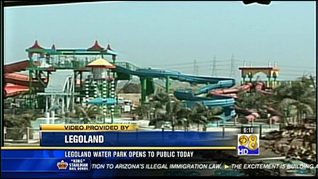 Legoland water park opens to public cbs news 8 san for Worldwide motors san diego ca