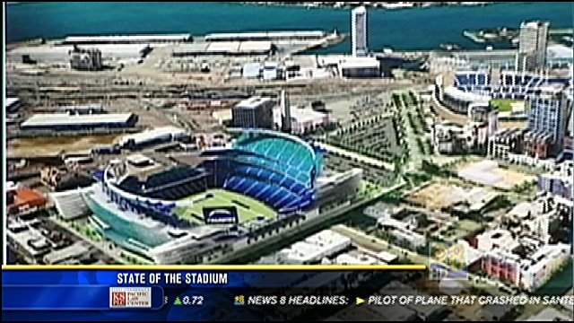 State of the stadium part 1 cbs news 8 san diego ca for Worldwide motors san diego ca