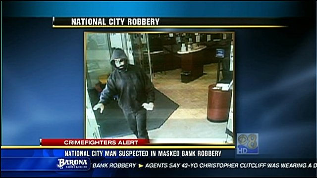 Fbi seeking national city man in connection with bank for National motors san diego