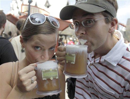 harry potter fans love park drink  got butterbeer  - cbs news 8