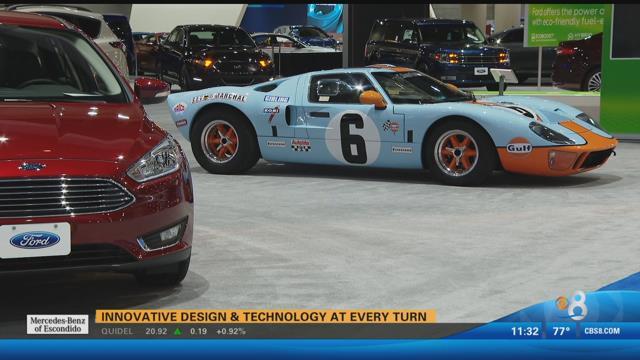 San diego international auto show kicks off thursday cbs for Worldwide motors san diego ca