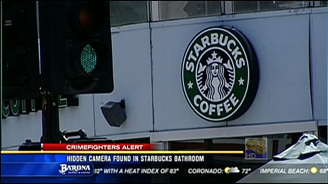 hidden camera found in starbucks bathroom - cbs news 8 - san diego