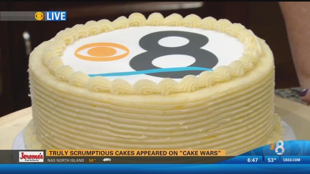 Encinitas Baker Wows Cake Wars Judges CBS News  San Diego - Birthday cakes encinitas