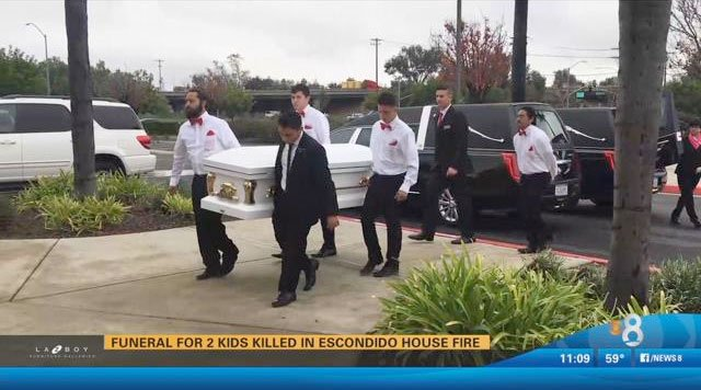 Funeral service held for 2 children in escondido house for 100 beauty salon escondido