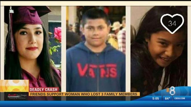 Family members share pictures of victims in Lemon Grove crash - CBS ...