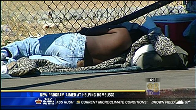 new program aimed at helping homeless - cbs news 8 - san diego  ca news station