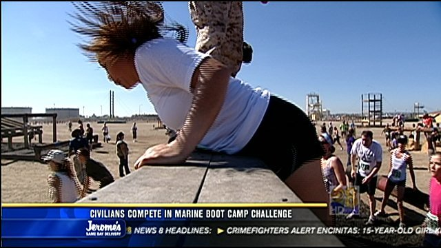SAN DIEGO, Calif. (CBS 8) - Marine Corps Boot Camp is where thousands