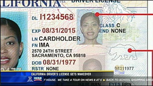 California Driver S License Gets A Makeover Cbs News 8