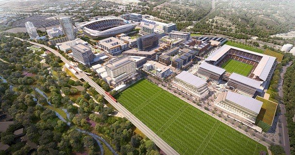 stadium future soccercity relaunch gears   november vote cbs news  san diego ca